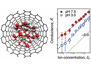 Strong Electroosmotic Coupling Dominates Ion Conductance of 1.5 nm Diameter Carbon Nanotube Porins