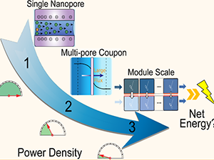 Nanopore-Based Power Generation from Salinity Gradient: Why It Is Not Viable