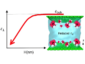 Universal Reduction in Dielectric Response of Confined Fluids